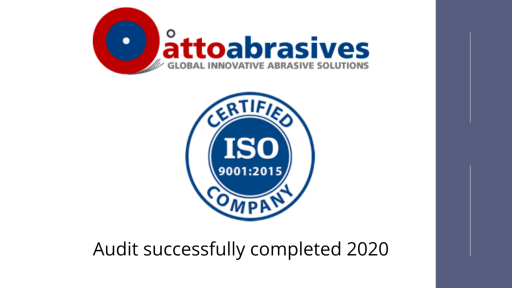 atto abrasives certifications